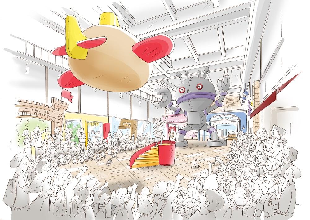 ショップ&フード・レストランフロアイメージ/横浜アンパンマンこどもミュージアム(神奈川県/横浜市西区)