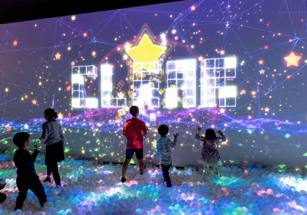 光と音のボールプール「ZABOOM」/リトルプラネット KITE MITE MATSUDO(千葉県/松戸市)