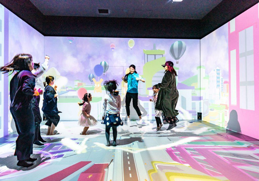 デジタルトランポリン「FLAPPY」/リトルプラネット KITE MITE MATSUDO(千葉県/松戸市)