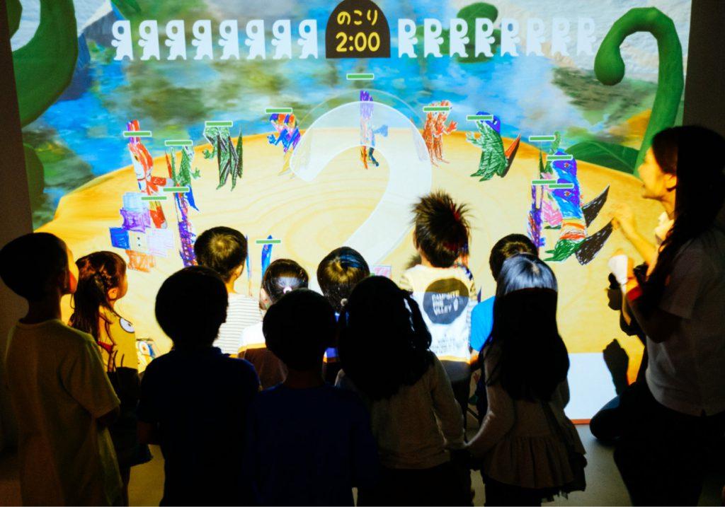 デジタル紙相撲「PAPER RIKISHI」/リトルプラネット KITE MITE MATSUDO(千葉県/松戸市)