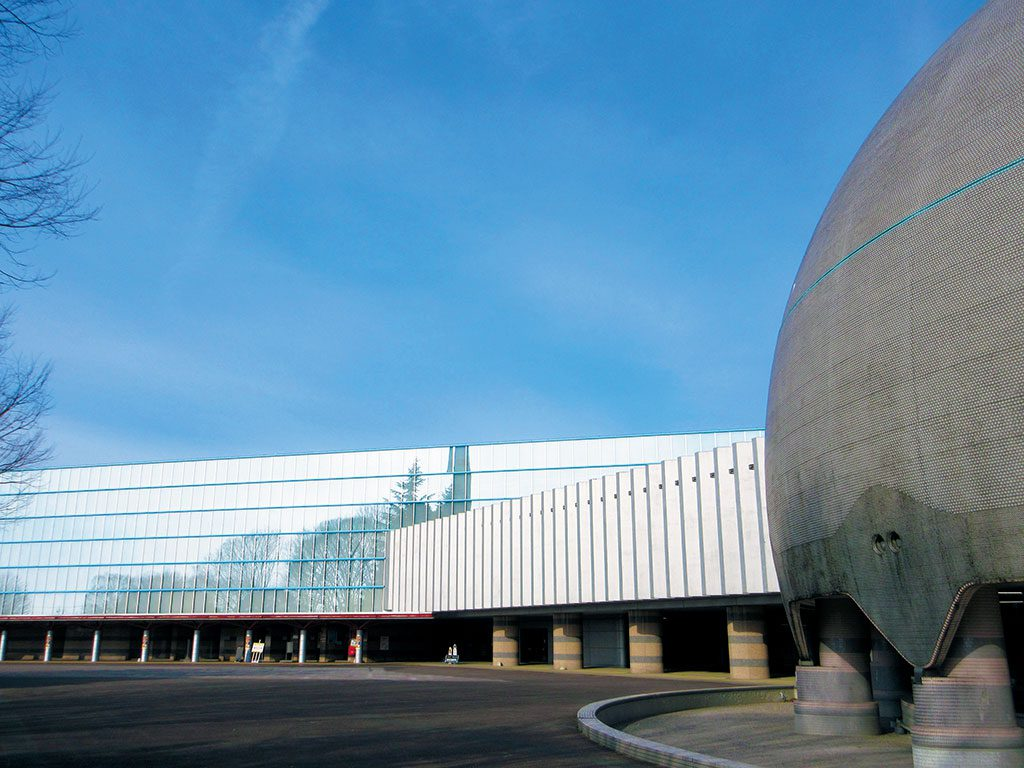 栃木県子ども総合科学館の外観(宇都宮市)