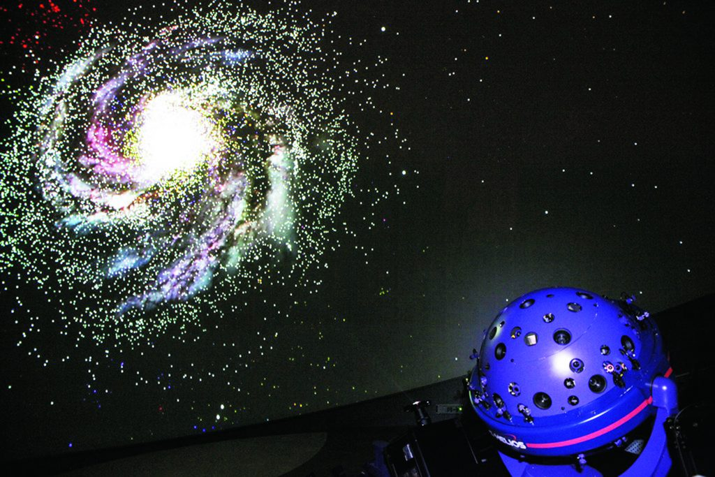 ギネスブックに認定されているプラネタリウムの「宇宙劇場」/郡山市ふれあい科学館(スペースパーク)(福島県)