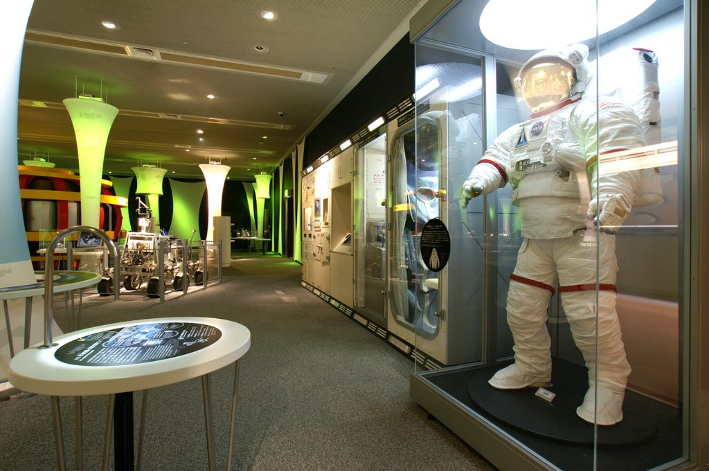 宇宙、深海、環境などの展示場/つくばエキスポセンター(茨城県/つくば市)