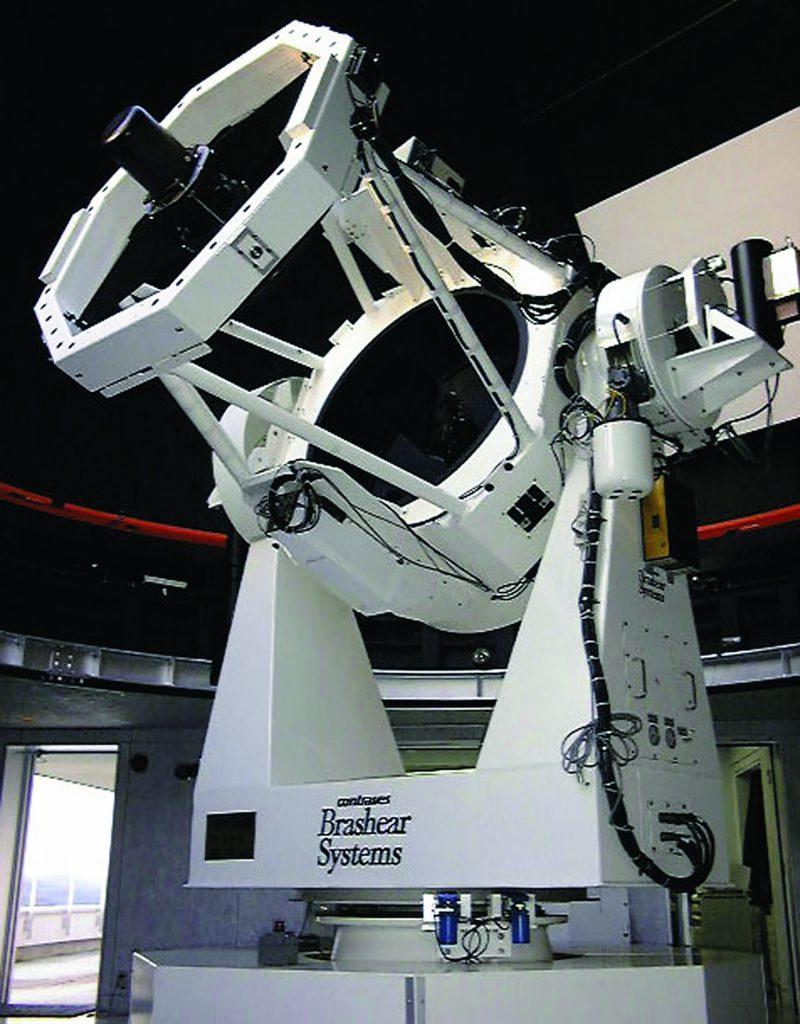 大型望遠鏡「りくり」/りくべつ宇宙ちきゅう科学館(北海道/陸別町)