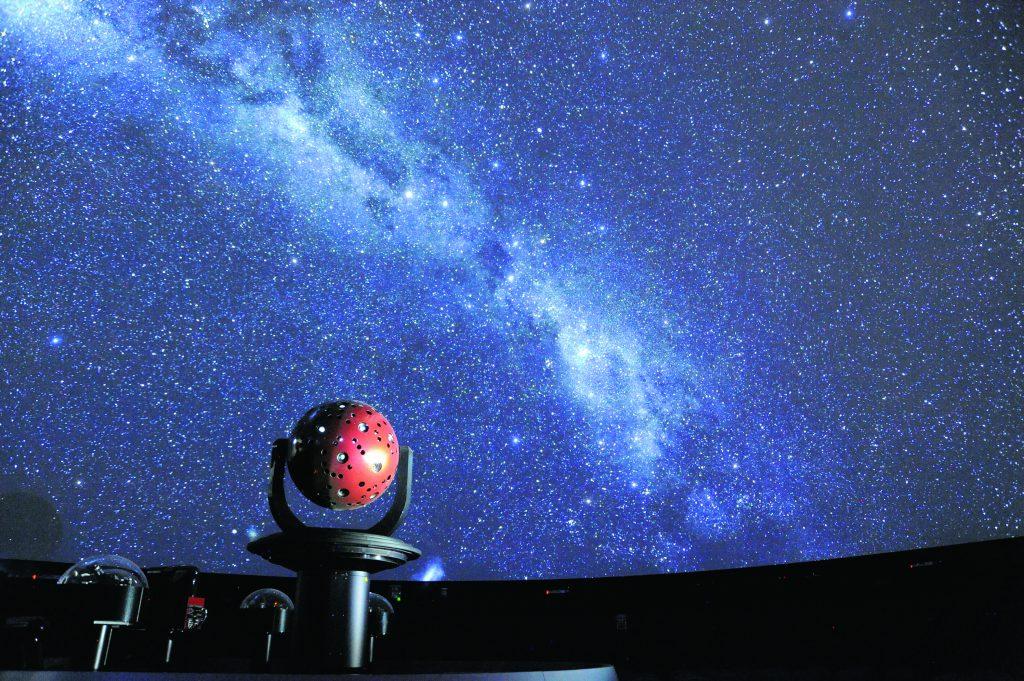 世界に1台の最新鋭機のあるプラネタリウム/かわさき宙と緑の科学館(神奈川県/川崎市)