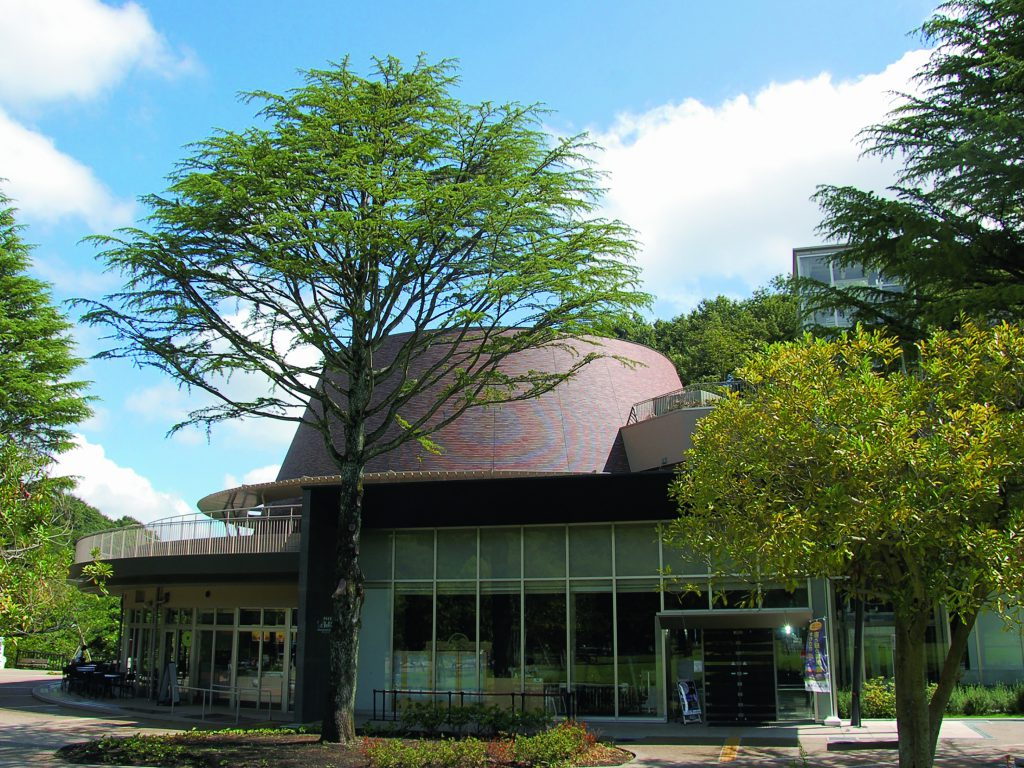 科学館外観/かわさき宙と緑の科学館(神奈川県/川崎市)