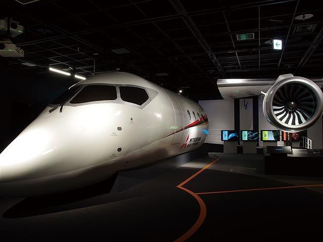 旅客機各部の実物大模型/三菱みなとみらい技術館(神奈川県/横浜市)