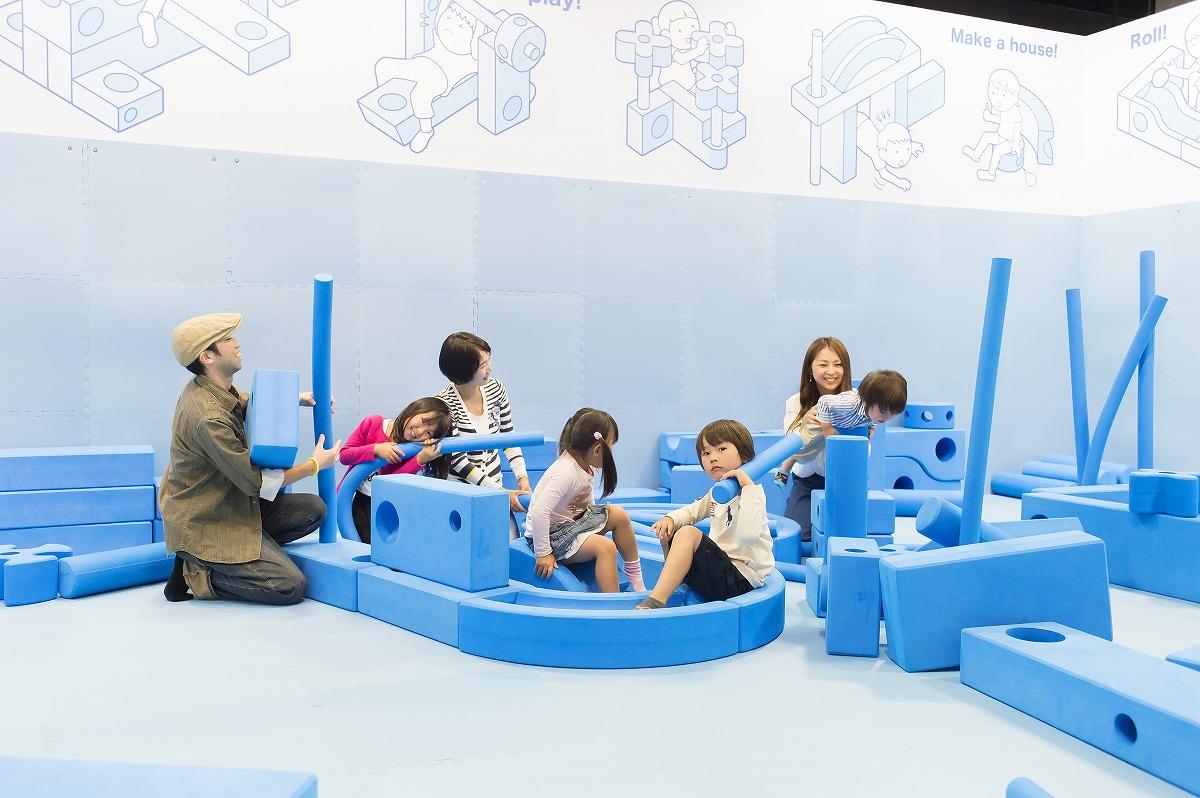 キッズグラウンドで遊ぶ様子/三菱みなとみらい技術館(神奈川県/横浜市)