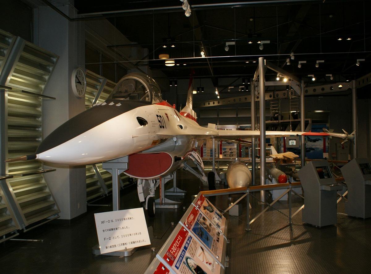 展示資料館F-2モックアップ/航空自衛隊浜松広報館(エアーパーク)(静岡県/浜松市)