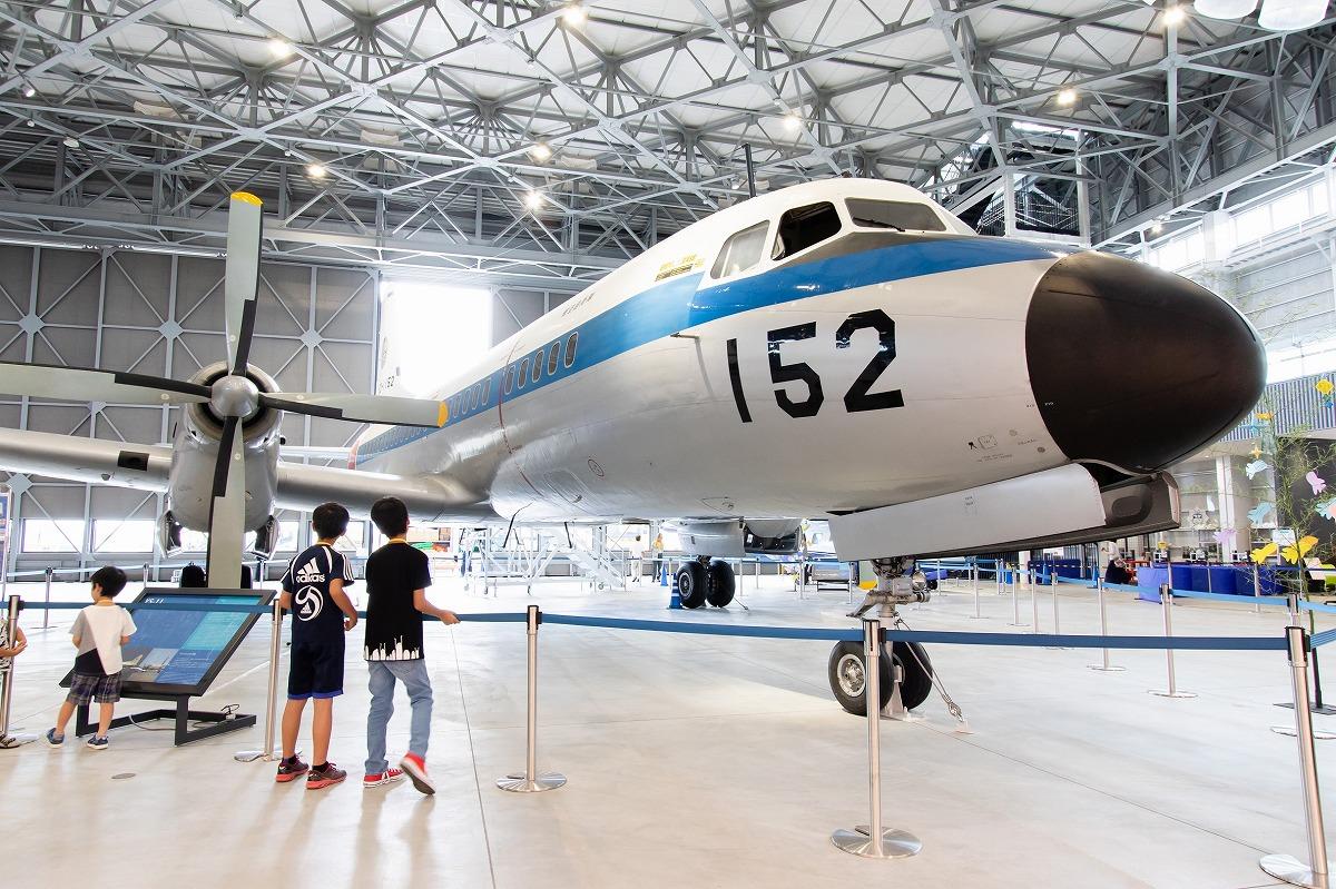 VIP輸送機として活躍した152号機/あいち航空ミュージアム(愛知県/豊山町)