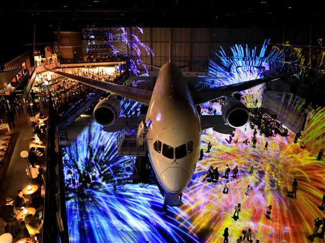ボーイング787初号機を展示している「フライトパーク」/FLIGHT OF DREAMS(フライト・オブ・ドリームズ)(愛知県/常滑市)
