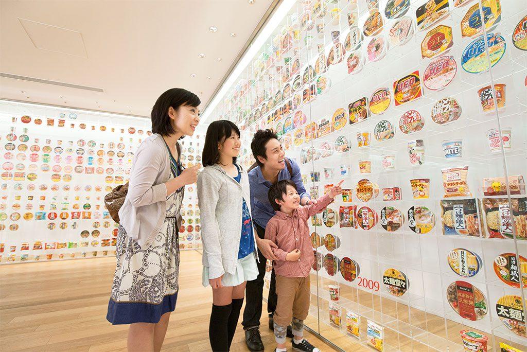 インスタントラーメンの歴史展示/カップヌードルミュージアム 横浜(神奈川県/横浜市)