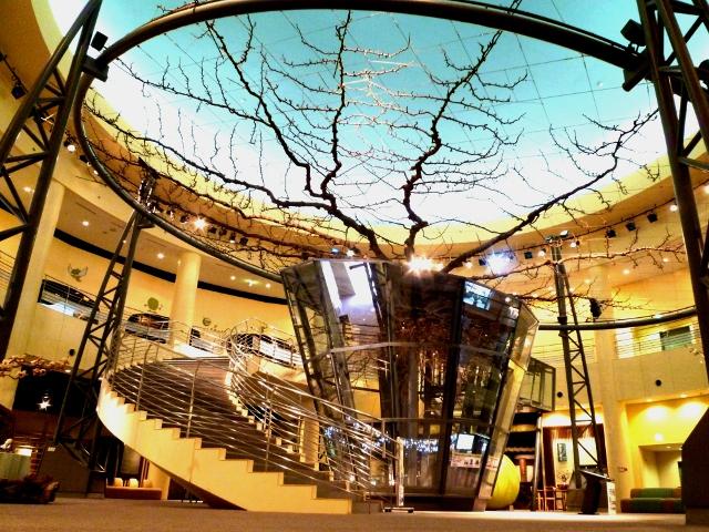 圧巻の樹齢74年の巨木/鳥取二十世紀梨記念館 なしっこ館(倉吉市)