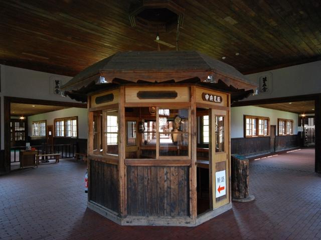 重要文化財の舎房及び中央見張所/博物館網走監獄(北海道)