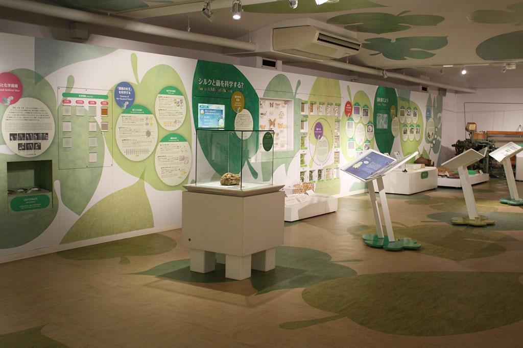 1階では「かいこ」のふしぎについて学べる/シルク博物館(神奈川県/横浜市)