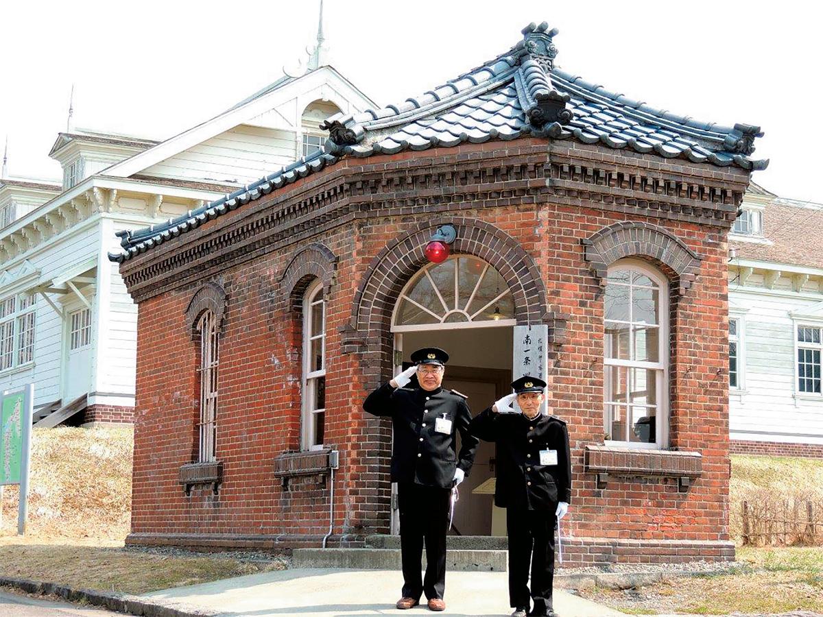 旧札幌警察署南一条巡査派出所/北海道開拓の村(札幌市)