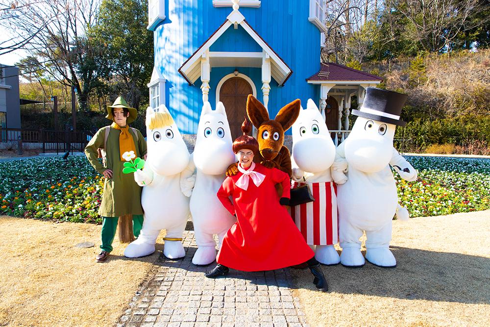 ムーミンとその仲間たち© Moomin Characters™/ムーミンバレーパーク(埼玉県/飯能市)