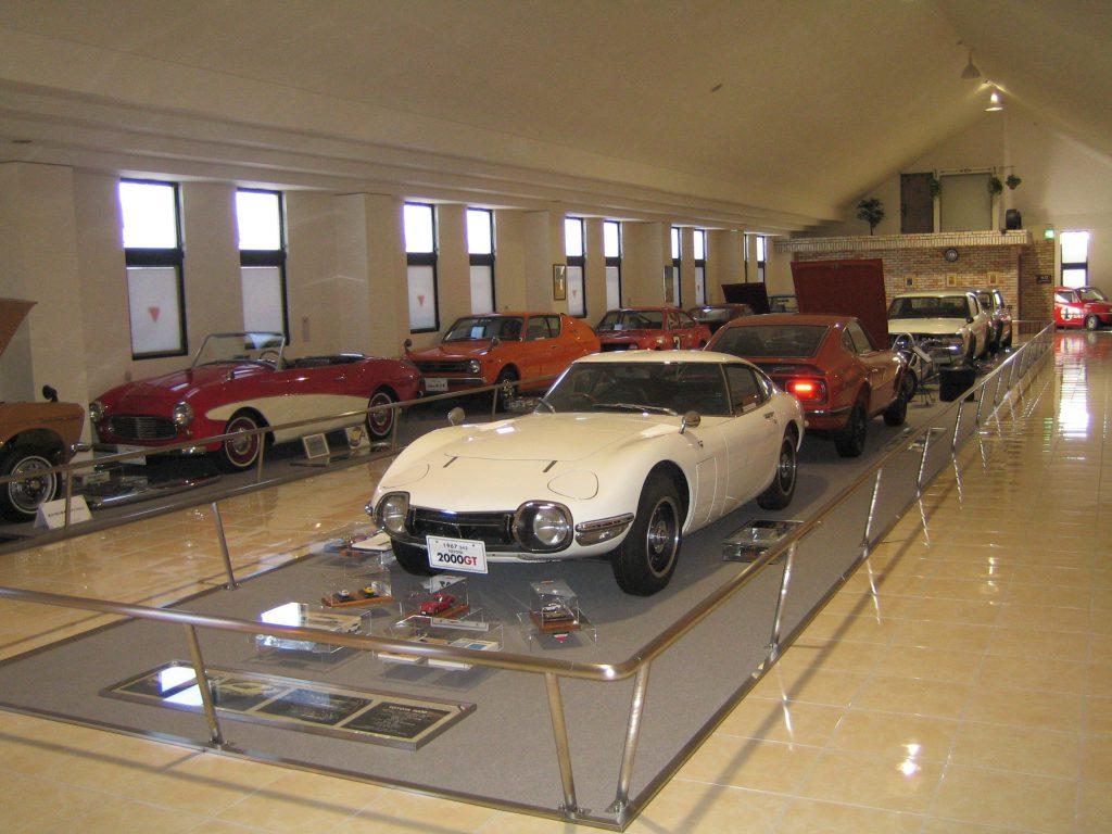 懐かしい名車が並ぶ「自動車博物館」/伊香保 おもちゃと人形 自動車博物館(群馬県/吉岡町)