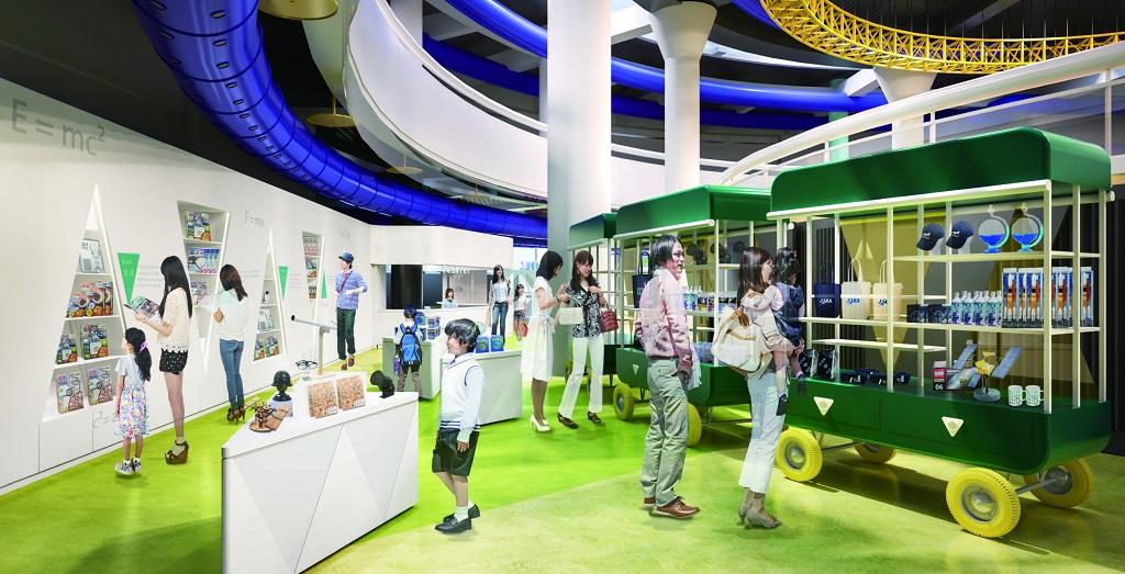 ミュージアムショップの様子/浜松科学館「みらいーら」(静岡県/浜松市)