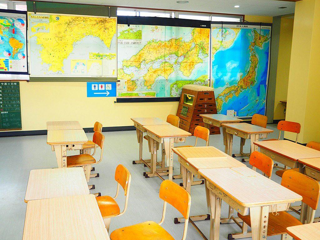 小学校をリノベーションしたむろと廃校水族館