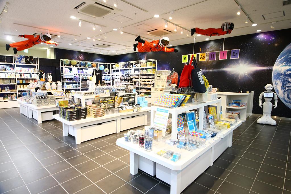 別館ミュージアムショップ/名古屋市科学館(愛知県)