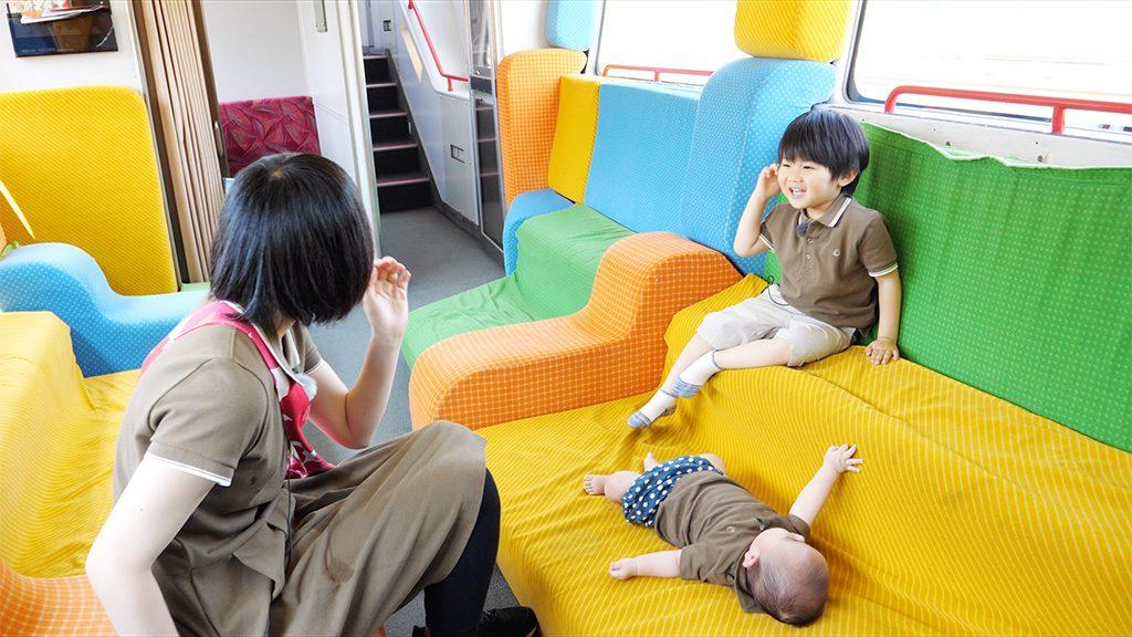 列車内にキッズスペースがあるJR東日本の特急列車「スーパービュー踊り子」