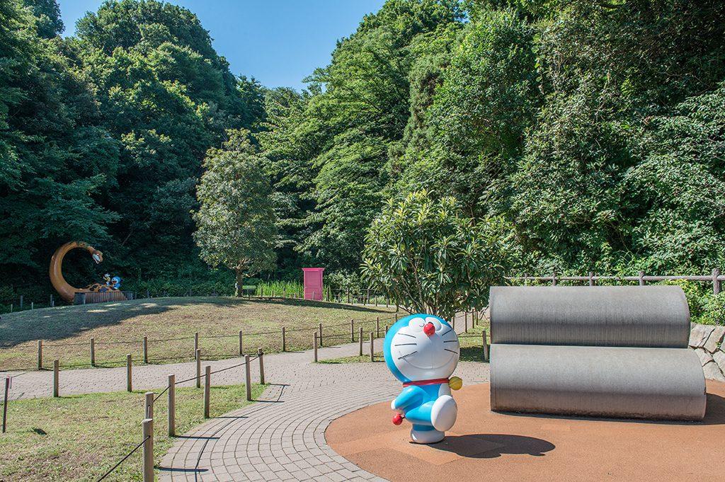 屋外展示のドラえもん/川崎市 藤子・F・不二雄ミュージアム(神奈川県)