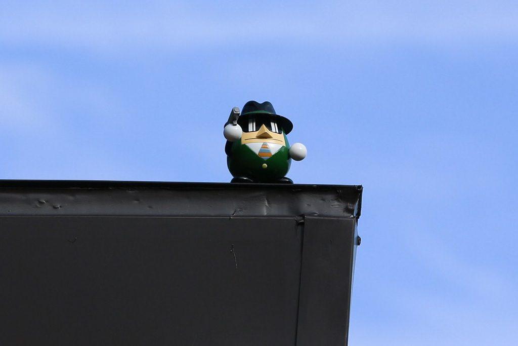 屋根の上をよく見てみると愉快なキャラクター/川崎市 藤子・F・不二雄ミュージアム(神奈川県)