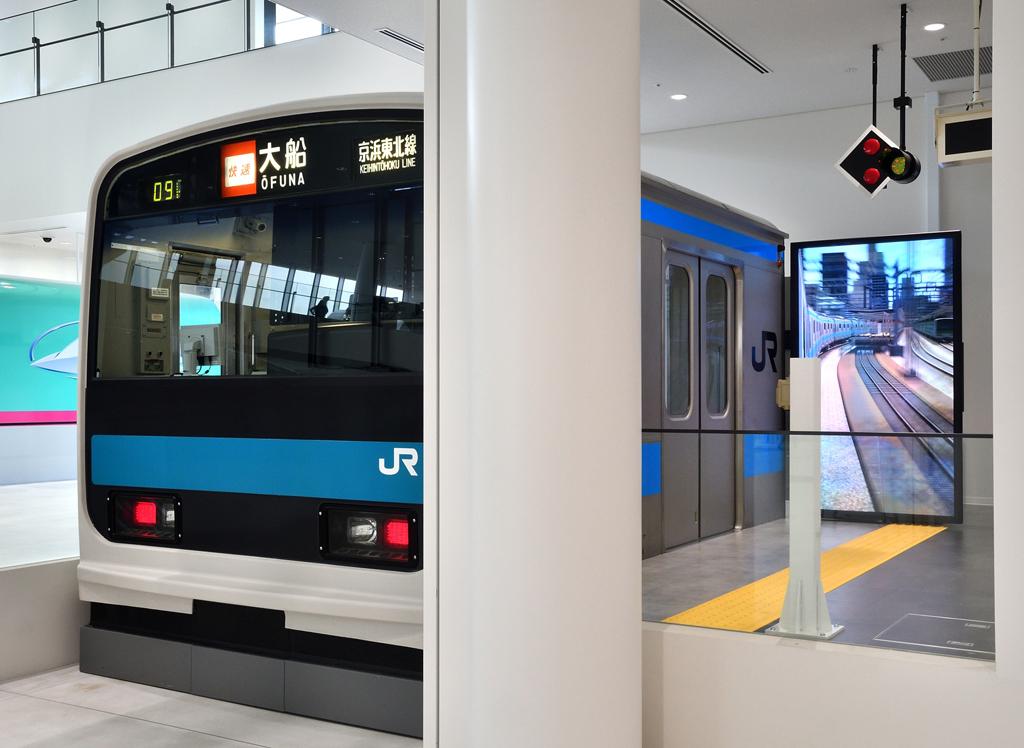 2018年にオープンしたばかりの南館/鉄道博物館(埼玉県/さいたま市)