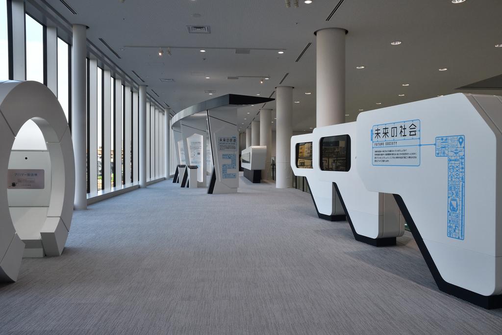 2階は鉄道の未来がテーマの「未来ステーション」/鉄道博物館(埼玉県/さいたま市)