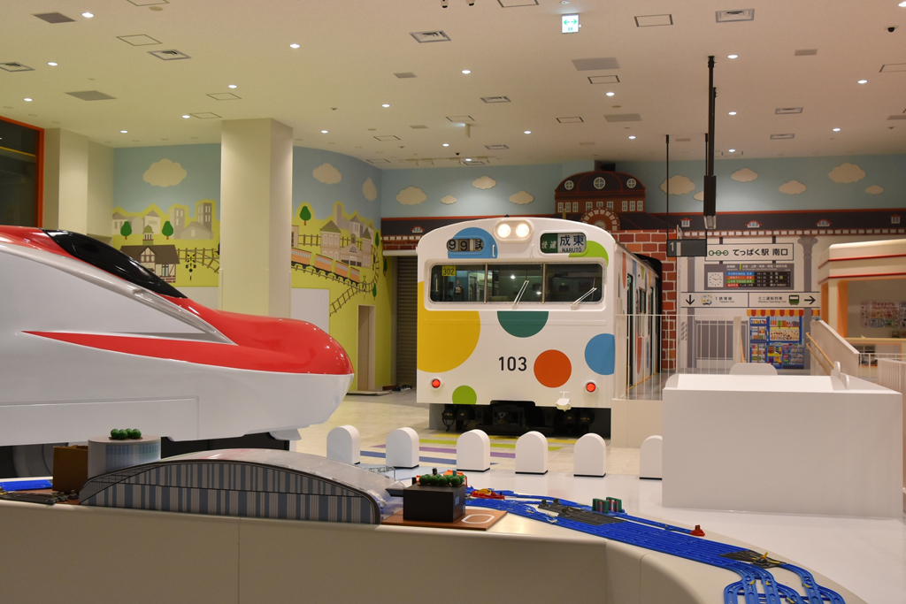 小さなお子さんも安心して遊べる「キッズプラザ」/鉄道博物館(埼玉県/さいたま市)