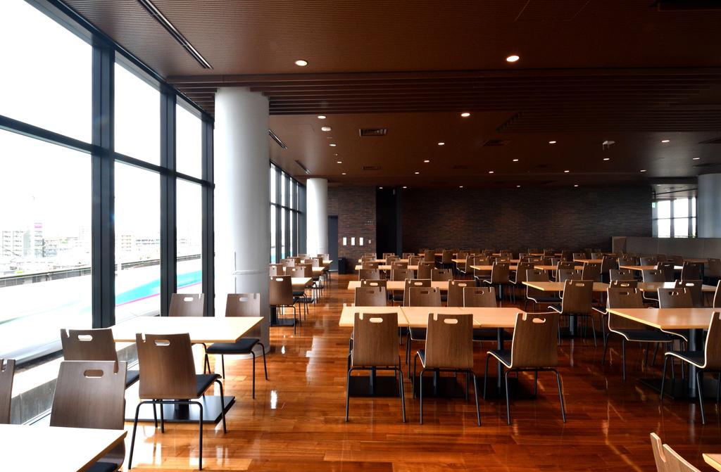 飲食可能スペース/鉄道博物館(埼玉県/さいたま市)