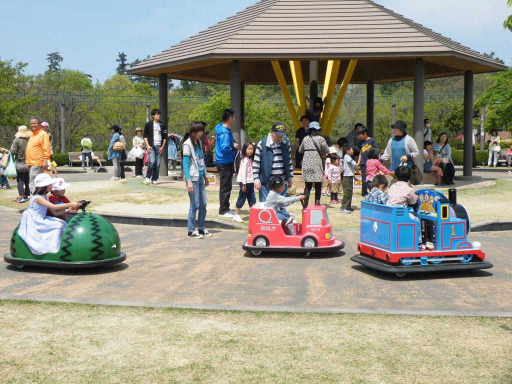 乗り物系のアトラクションも充実/鳥取砂丘こどもの国(鳥取県/鳥取市)