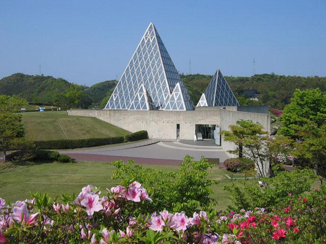 仁摩サンドミュージアムの外観(島根県/大田市)