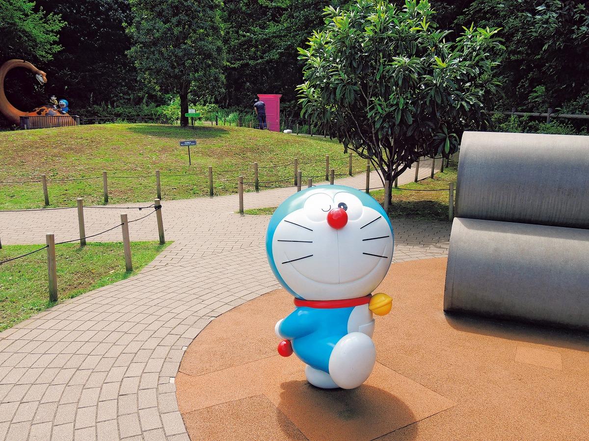 屋外ではドラえもんがお出迎え (C)Fujiko-Pro/川崎市 藤子・F・不二雄ミュージアム(神奈川県)
