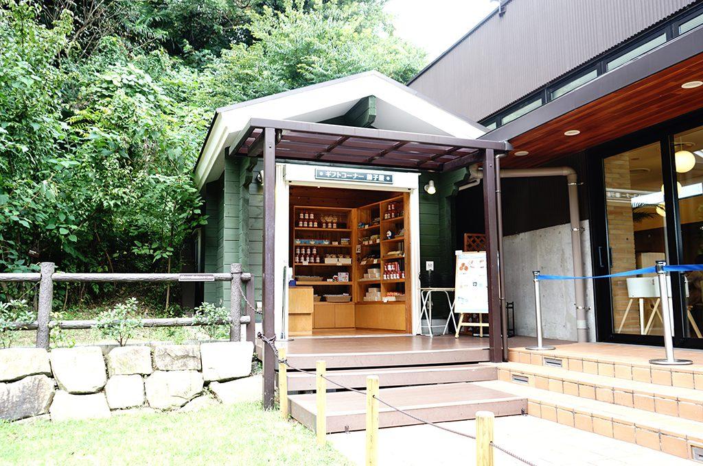 屋上はらっぱにある「藤子屋」/川崎市 藤子・F・不二雄ミュージアム(神奈川県)