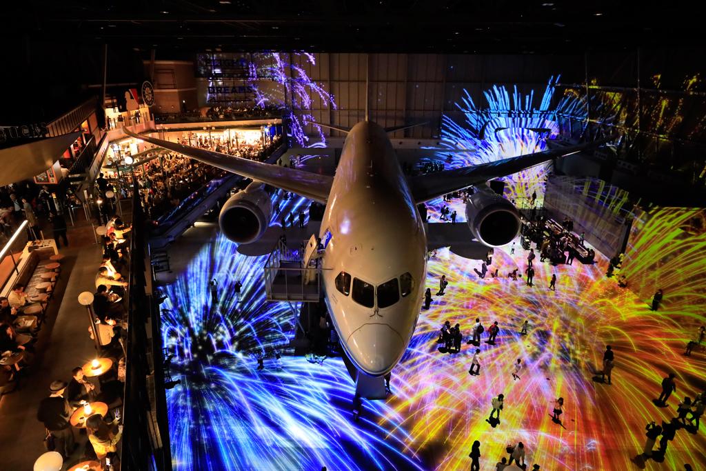 「フライトパーク」館内の様子/FLIGHT OF DREAMS(愛知県/常滑市)