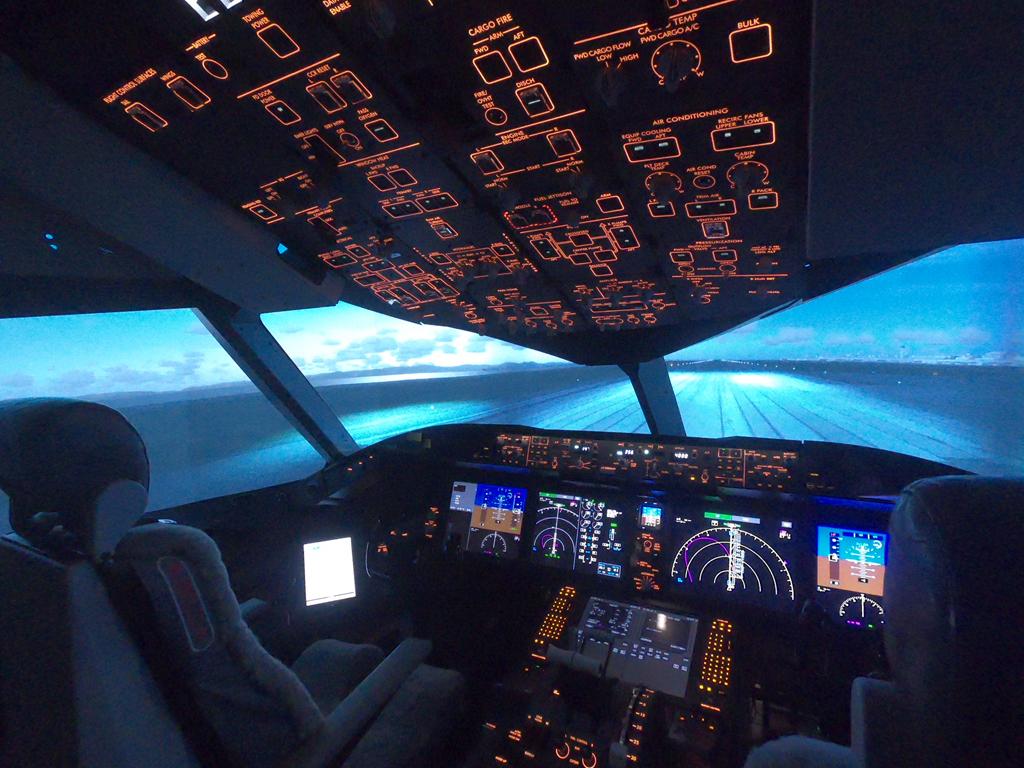 787シミュレータ/FLIGHT OF DREAMS(愛知県/常滑市)