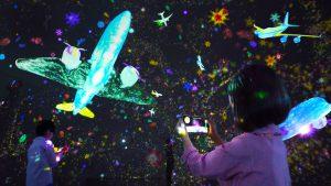 チームラボの飛行機体験が新感覚!セントレアの「フライト・オブ・ドリームズ」