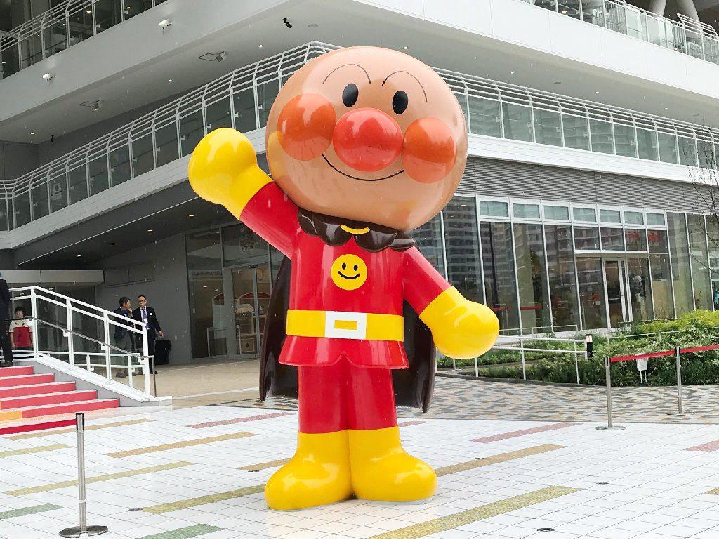 「おおきなアンパンマン」がお出迎え/横浜アンパンマンこどもミュージアム(神奈川県/横浜市)