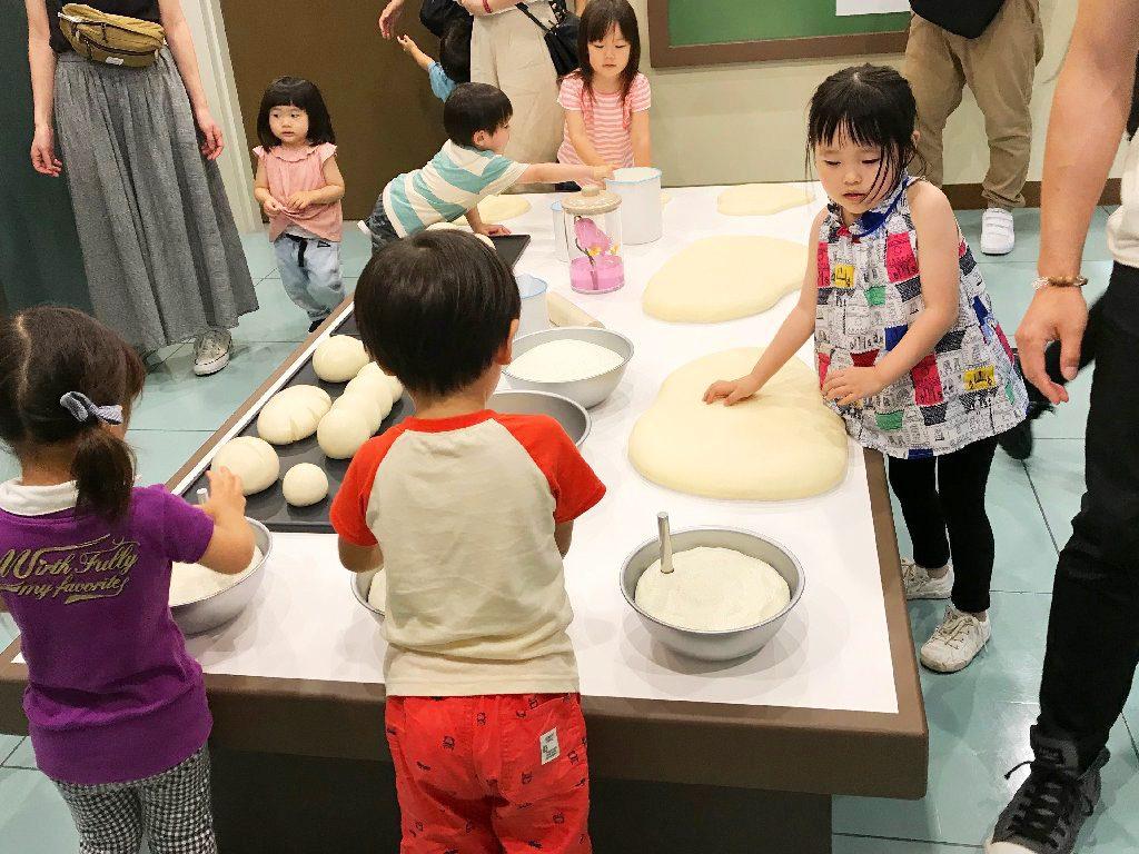 大人気のパン工場/横浜アンパンマンこどもミュージアム(神奈川県/横浜市)