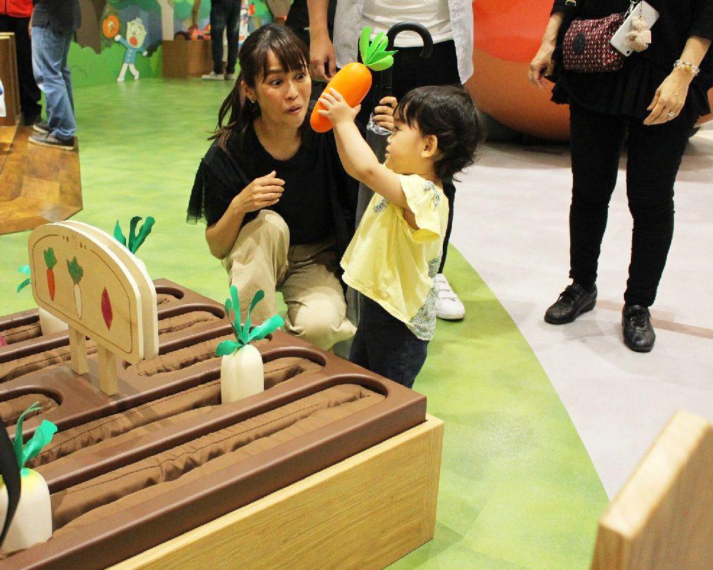 野菜も収穫できます/横浜アンパンマンこどもミュージアム(神奈川県/横浜市)