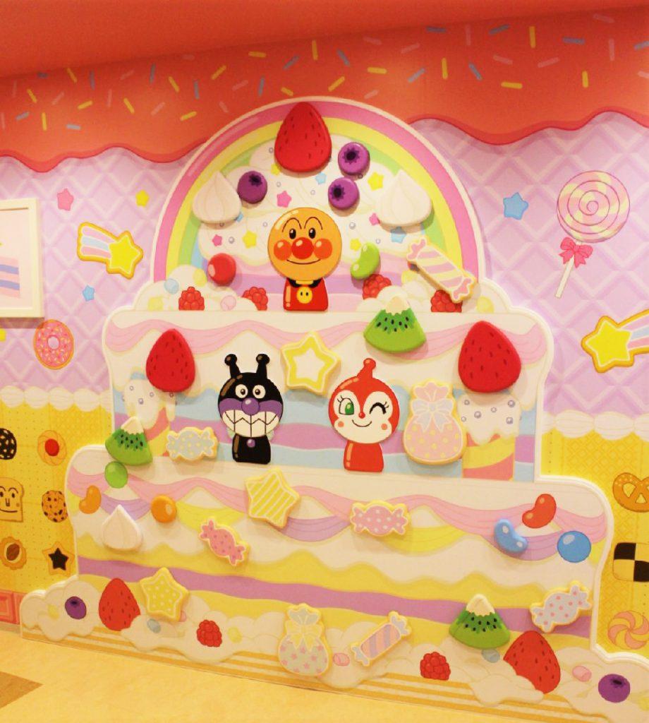 お菓子の家のケーキ/横浜アンパンマンこどもミュージアム(神奈川県/横浜市)