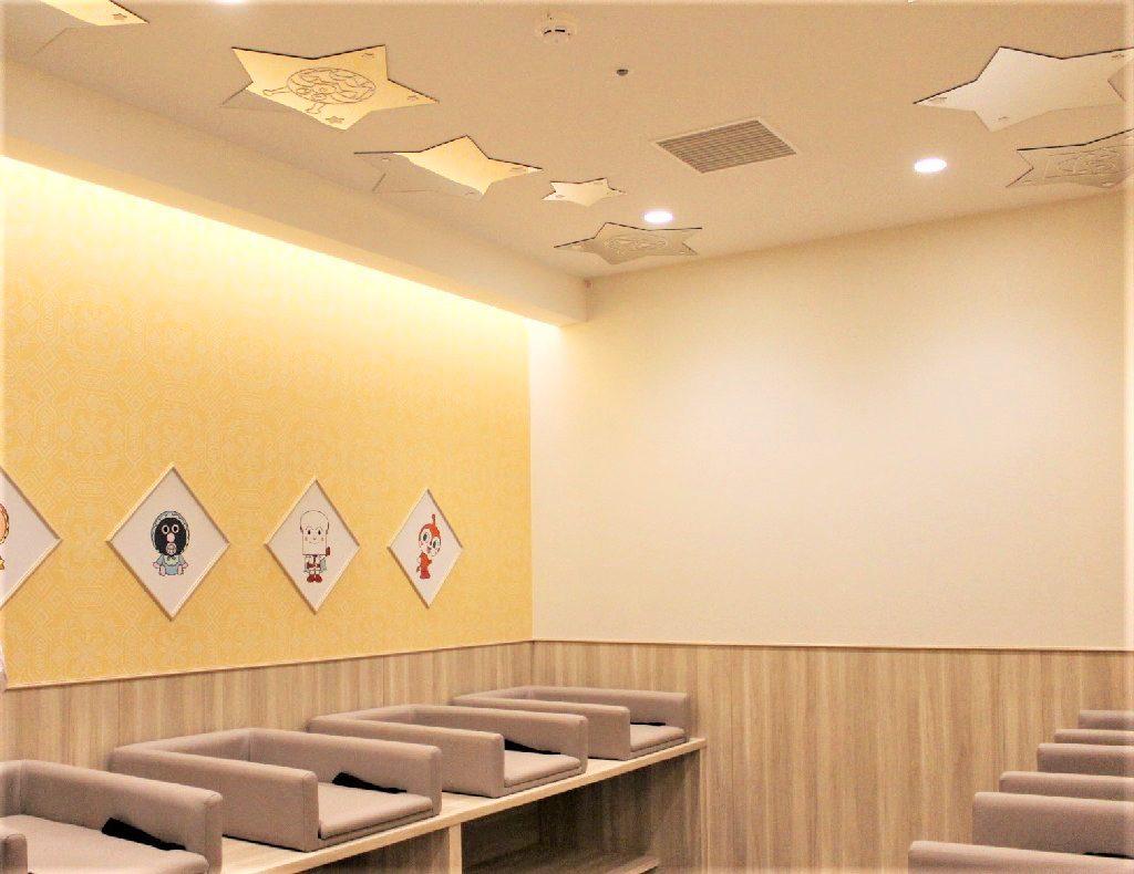 おむつ替えスペース/横浜アンパンマンこどもミュージアム(神奈川県/横浜市)