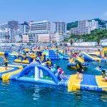 2019年夏休みは新スポットも!「水上アスレチック・海上ウォーターパーク」で思いっきりアソぼう!