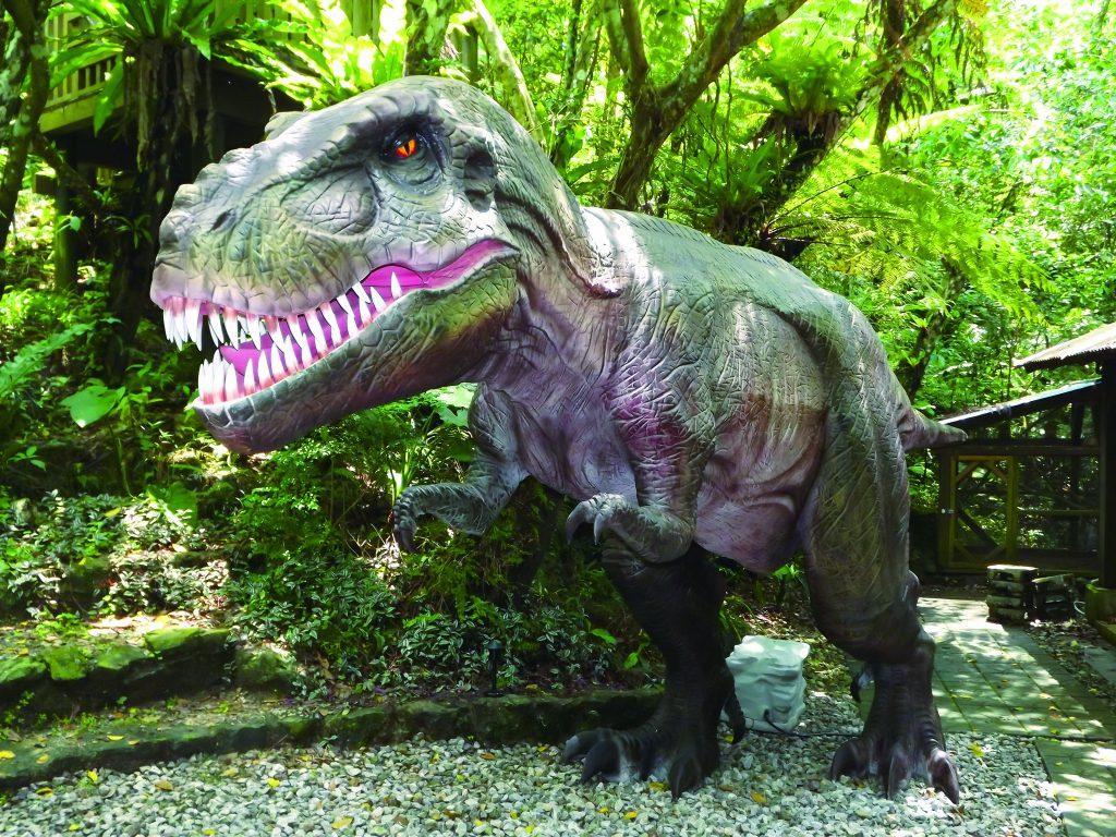 ティラノサウルス/DINO恐竜PARKやんばる亜熱帯の森(沖縄県/名護市)