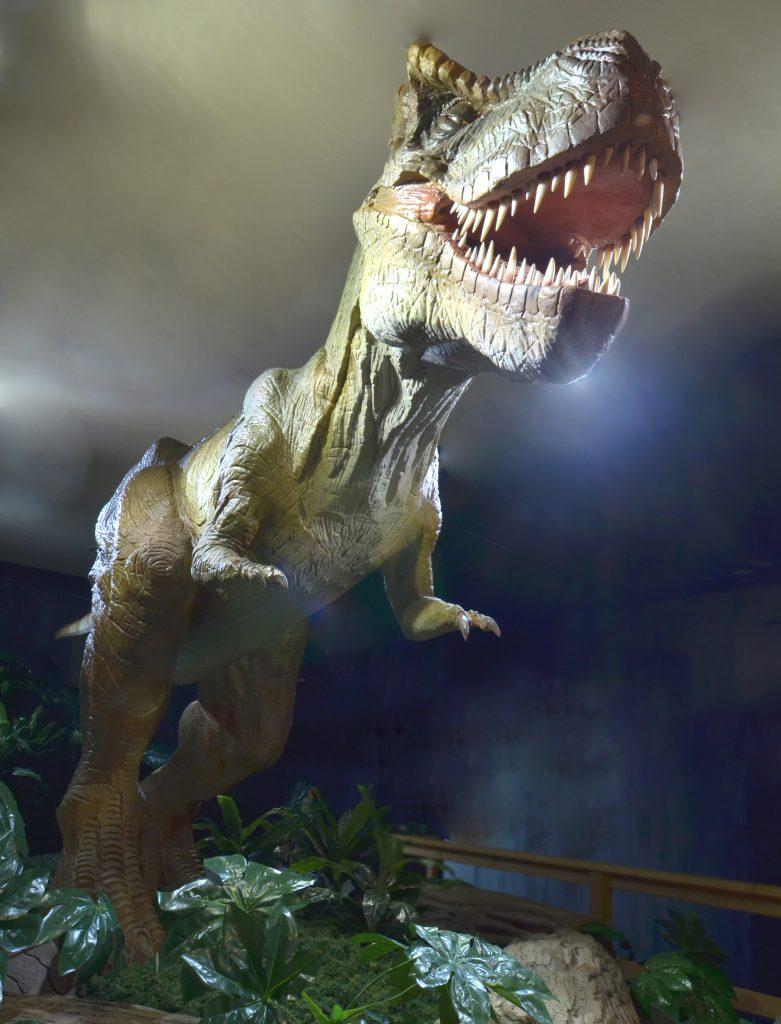 ティラノサウルスの復元模型/日光・鬼怒川 3D 宇宙恐竜館(栃木県/日光市)