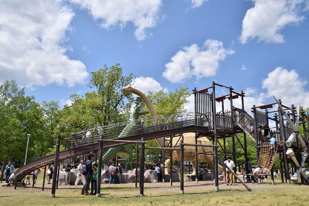 ティラノサウルス広場/かつやま恐竜の森(福井県/勝山市)