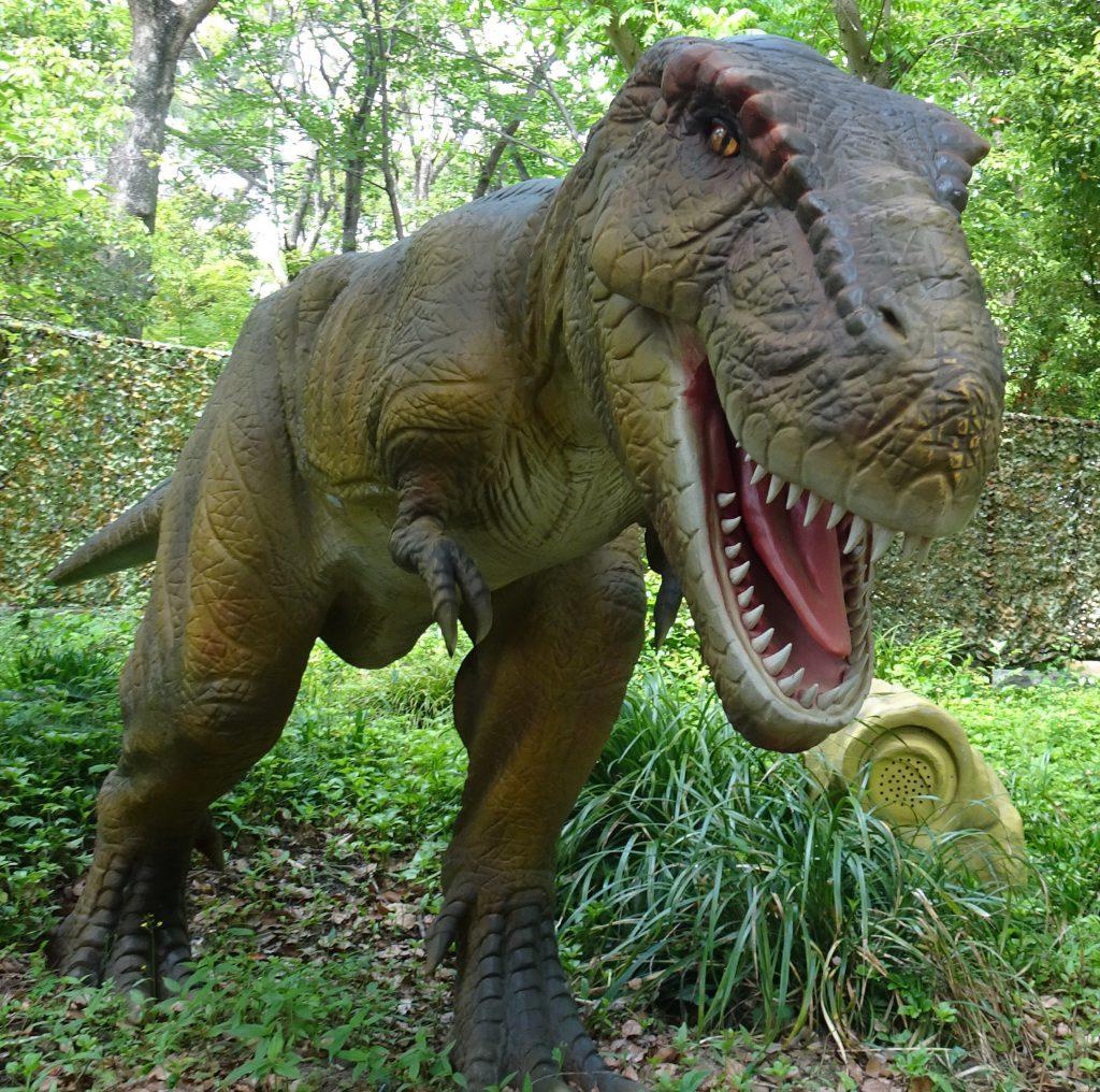 ティラノサウルスの復元模型/安城産業文化公園デンパーク(愛知県/安城市)