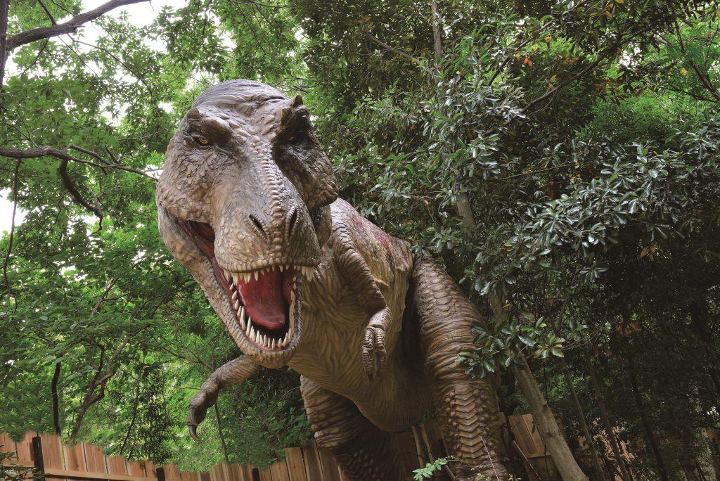 ティラノサウルスの復元模型/ディノアドベンチャー名古屋(愛知県/名古屋市)